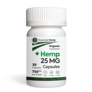 Essential Hemp - Daily Hemp Capsules 25mg