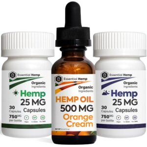 EHMP - Orange Cream 500 Tincture_Capsules Pack