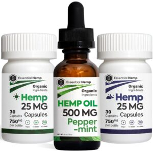 EHMP - Peppermint 500 Tincture_Capsules Pack