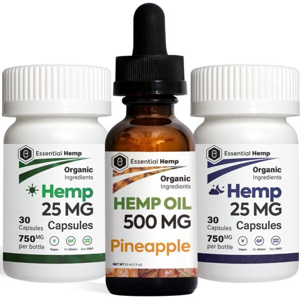 EHMP - Pineapple 500 Tincture_Capsules Pack