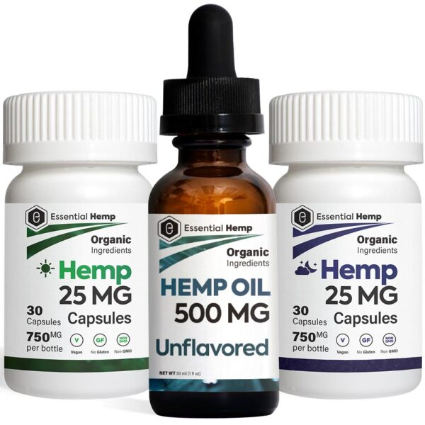 EHMP - Unflavored 500 Tincture_Capsules Pack