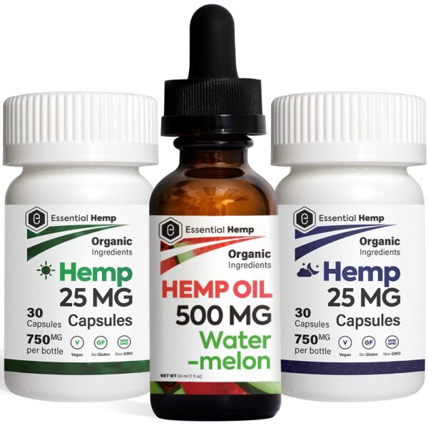 EHMP - Watermelon 500 Tincture_Capsules Pack